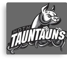 HOTH TAUNTAUNS FOOTBALL TEAM Canvas Print