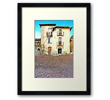 L'Aquila: collapsed building Framed Print