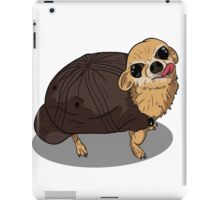 Turtle in a dog suit iPad Case/Skin