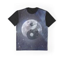 Lunar Yin Yang Graphic T-Shirt