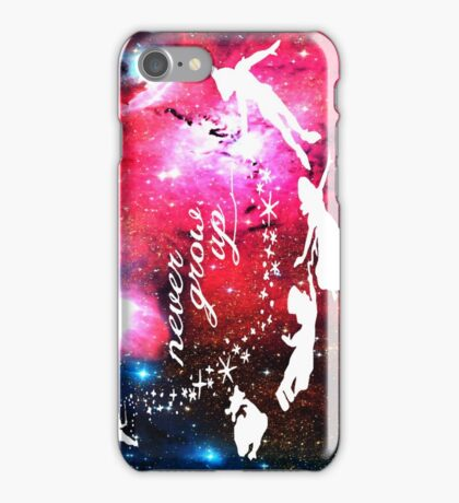 Never Grow Up Galaxy iPhone Case/Skin