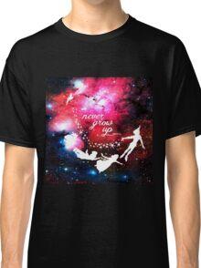 Never Grow Up Galaxy Classic T-Shirt