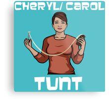 Cheryl/Carol Tunt - Iconic Pose Metal Print