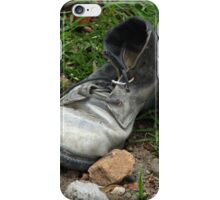 Old Discarded Shoe iPhone Case/Skin