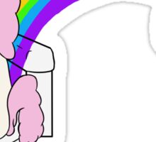 Unicorns Poop Rainbows Sticker
