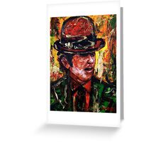 Bowler man Greeting Card