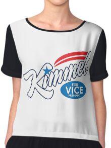 jimmy kimmel for vice president Chiffon Top