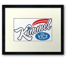 jimmy kimmel for vice president Framed Print