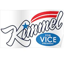 jimmy kimmel for vice president Poster