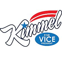 jimmy kimmel for vice president Photographic Print