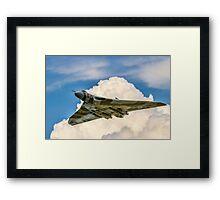 Avro Vulcan B.2 XH558 - Spirit of Noise? Framed Print