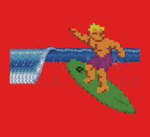 CALIFORNIA GAMES - SURFING - MASTER SYSTEM Kids Tee