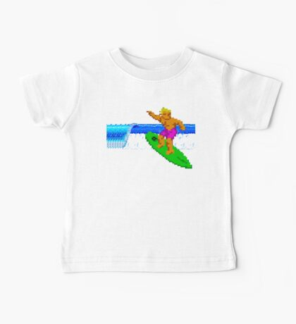 CALIFORNIA GAMES - SURFING - MASTER SYSTEM Baby Tee