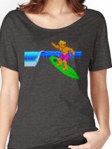 CALIFORNIA GAMES - SURFING - MASTER SYSTEM Women's Relaxed Fit T-Shirt