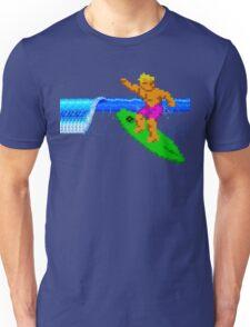 CALIFORNIA GAMES - SURFING - MASTER SYSTEM Unisex T-Shirt