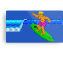 CALIFORNIA GAMES - SURFING - MASTER SYSTEM Metal Print