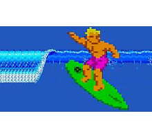 CALIFORNIA GAMES - SURFING - MASTER SYSTEM Photographic Print