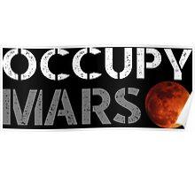elon musk occupy mars Poster