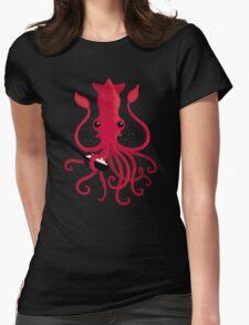 Kraken Attaken Womens Fitted T-Shirt