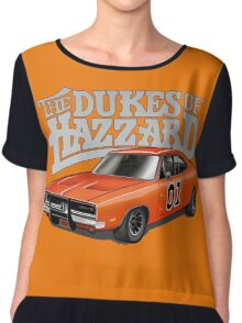 DUKES OF HAZZARD - DODGE GENERAL LEE Chiffon Top