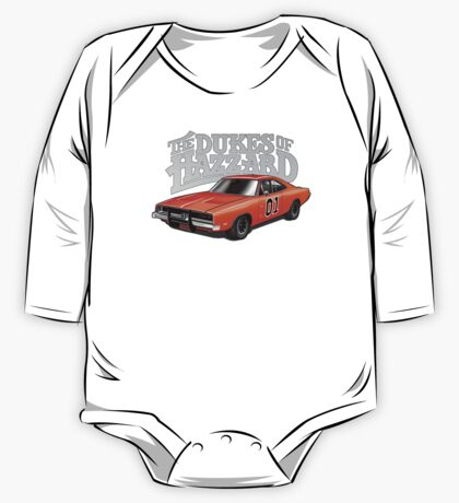 DUKES OF HAZZARD - DODGE GENERAL LEE One Piece - Long Sleeve