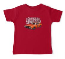 DUKES OF HAZZARD - DODGE GENERAL LEE Baby Tee