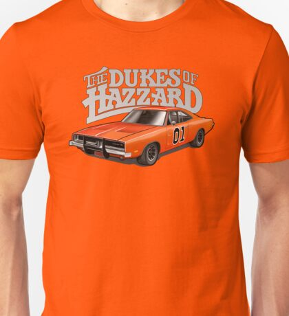 DUKES OF HAZZARD - DODGE GENERAL LEE Unisex T-Shirt