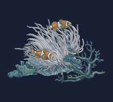Clownfish and Anemone One Piece - Long Sleeve