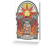 Dark Souls Jolly church Greeting Card