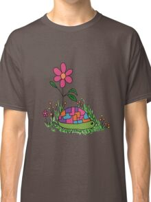 Turtle In the Flowers Classic T-Shirt