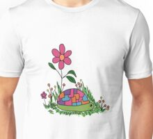 Turtle In the Flowers Unisex T-Shirt
