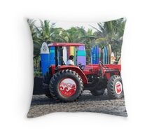 Bali Coca cola  Throw Pillow