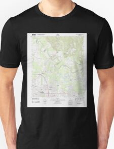 USGS TOPO Map Alabama AL Willow Springs 20110927 TM T-Shirt