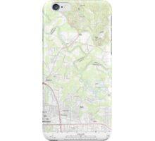 USGS TOPO Map Alabama AL Willow Springs 20110927 TM iPhone Case/Skin