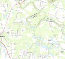 USGS TOPO Map Alabama AL Willow Springs 20110927 TM Sticker