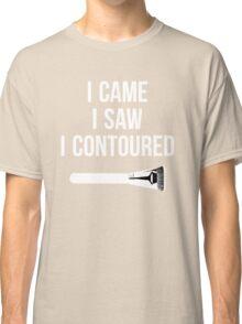 I Came i Saw i CONTOURED - Make up Artist Design brush Classic T-Shirt