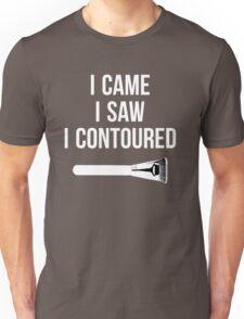 I Came i Saw i CONTOURED - Make up Artist Design brush Unisex T-Shirt