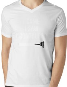 I Came i Saw i CONTOURED - Make up Artist Design brush Mens V-Neck T-Shirt