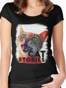 Cat Stories Women's Fitted Scoop T-Shirt