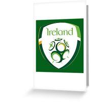 Ireland Euro 2016 Football Greeting Card