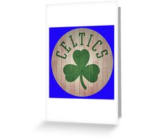 boston celtic logo Greeting Card