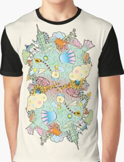 Puffer Puffing On A Water Pipe Graphic T-Shirt