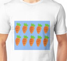Oil Pastel carrots pattern Unisex T-Shirt