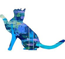 Galaxy Cat 2 Photographic Print