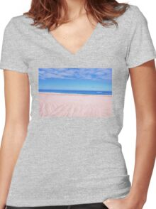 Hossegor 2 Women's Fitted V-Neck T-Shirt
