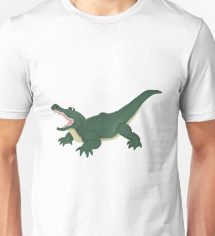 Alligator Excited Unisex T-Shirt