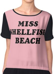 Miss Shellfish Beach Chiffon Top