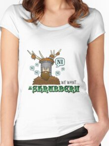 We Want A Shrubbery - Nights Who Say Ni COLOUR Women's Fitted Scoop T-Shirt