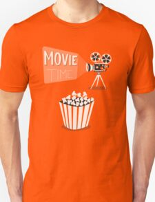 Cinema motion picture. Movie time. Unisex T-Shirt