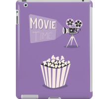 Cinema motion picture. Movie time. iPad Case/Skin